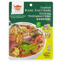 Tean's Gourmet Vegetable Curry Paste 200gm