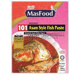 MasFood 101 Asam Style Fish Paste 200gm