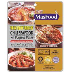 MasFood Chilli Seafood All Purpose Paste 200gm