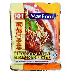 MasFood 101 Portuguese Style Steamed-Fish Paste 200gm