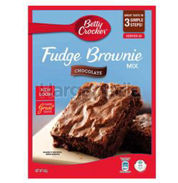 Betty Crocker Chocolate Fudge Brownie Mix 430gm