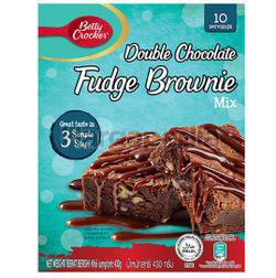 Betty Crocker Double Chocolate Fudge Brownie Mix 430gm
