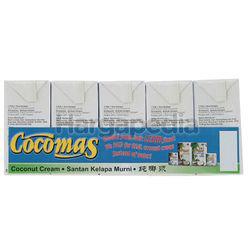 Cocomas Coconut Milk 5x200ml