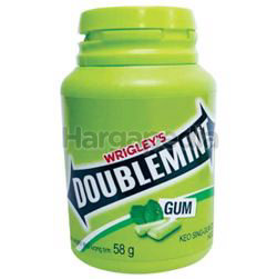 Wrigley's Doublemint Chewing Gum Peppermint 58gm