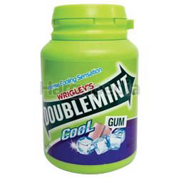 Wrigley's Doublemint Chewing Gum Cool Blackcurrant 58gm