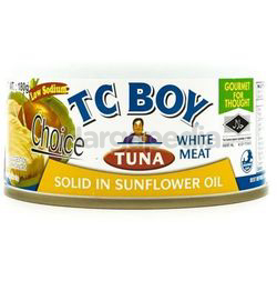 TC Boy Solid White Meat Tuna in Sunflower Oil 150gm