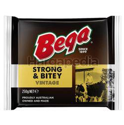 Bega Strong & Bitey Vintage Cheese Block 250gm