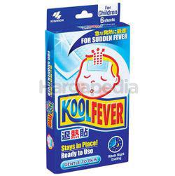 KoolFever Children Cooling Gel 6s