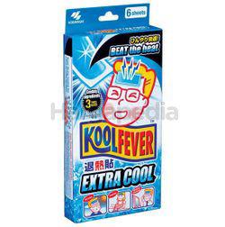 KoolFever Adult Cooling Gel Extra Cool 6s
