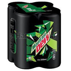 Mountain Dew Can 4x320ml