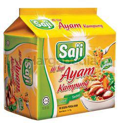 Sajimee Instant Noodles Kampung Chicken Soup  5x75gm