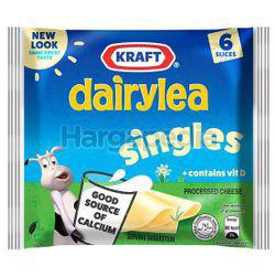Kraft Dairylea Singles Hi Calcium Cheese 6s 125gm