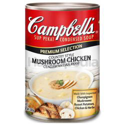 Campbell's Premium Country Style Mushroom Chicken Soup 300gm