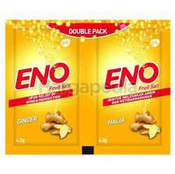 Eno Reliever Salt Ginger 2x4.3gm