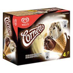 Wall's Cornetto Classic Mix Vanilla Chocolate 4x82ml