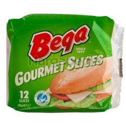 Bega Gourmet Cheese Slices 200gm