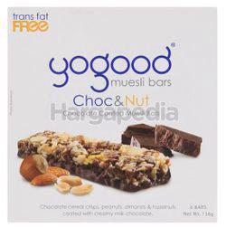 Yogood Choc & Nut Muesli Bar 138gm