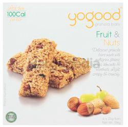 Yogood Fruit & Nuts Granola Bar 138gm