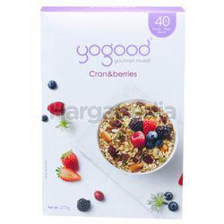 Yogood Gourmet Muesli Cran & Berries 370gm