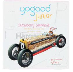 Yogood Junior Cereal Bar Strawberry Smoothie 80gm