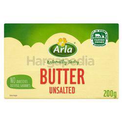 Arla Butter Unsalted 200gm