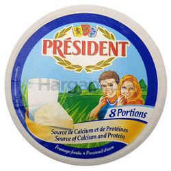 President 8 Portions Cheese 140gm