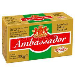 Ambassador Salted Butter 200gm