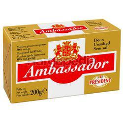 Ambassador Unsalted Butter 200gm
