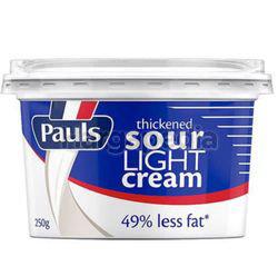 Pauls Sour Lite Cream 250gm