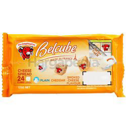 The Laughing Cow Belcube Smoke 125gm