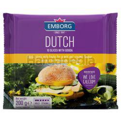 Emborg Dutch Guoda Slice Cheese 200gm