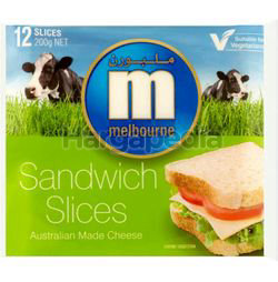 Melbourne Cheddar Cheese Slices 200gm
