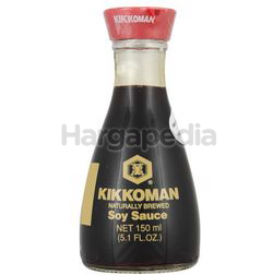 Kikkoman Naturally Brewed Soy Sauce 150ml