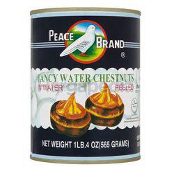 Peace Brand Fancy Water Chestnuts In Water 565gm