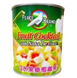 Peace Brand Fruit Cocktail Nata De Coco 850gm