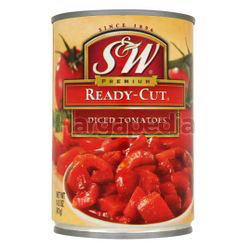 S&W Ready-Cut Diced Tomatoes 411gm