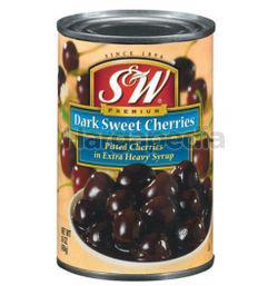 S&W Dark Sweet Cherries 454gm