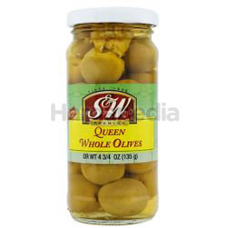 S&W Queen Olives 135gm