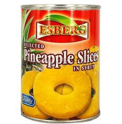 Esberg Pineapple Sliced 565gm