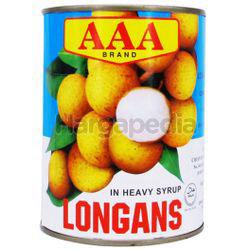 AAA Longan In Heavy Syrup 565gm