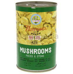 Narcissus Mushroom Pieces & Stem 425gm