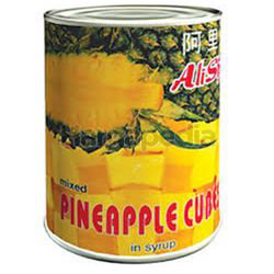 Alishan Pineapple Cube in Syrup 565gm
