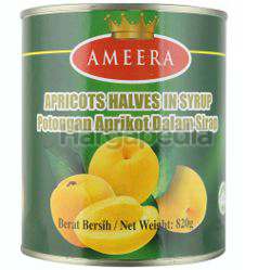 Ameera Apricots Halves In Syrup 820gm