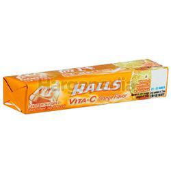Halls Stick Candy Vita-C Orange 34gm