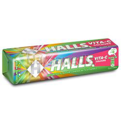 Halls Stick Candy Vita-C Colours 34gm