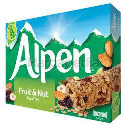 Alpen Cereal Bar Fruit & Nut 140gm
