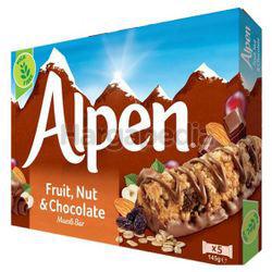 Alpen Cereal Bar Fruit, Nut & Chocolate 145gm