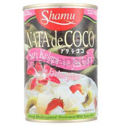 Shamu Nata De Coco in  Lychee Juice 425gm