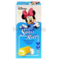 Disney Swiss Roll Milk 6x20gm