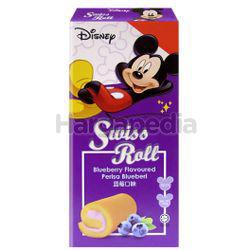 Disney Swiss Roll Blueberry 6x20gm